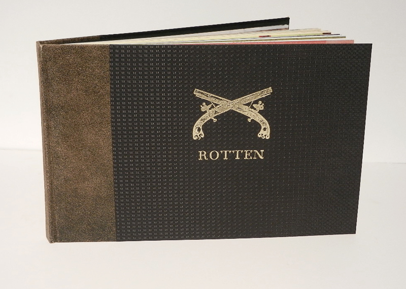 Rotten book cover, 2006